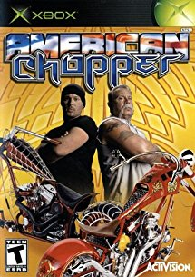 American Chopper Microsoft Original Xbox Video Game