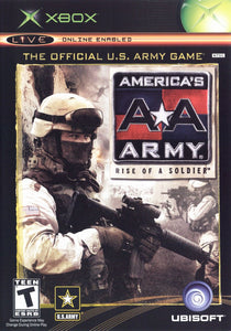 Americas Army Rise of a Soldier Microsoft Original Xbox Video Game