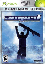 Amped Freestyle Snowboarding Microsoft Original Xbox Video Game