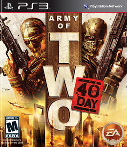 Army of Two 40th Day Sony Playstation 3 PS3 Video Game