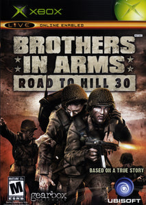 Brothers In Arms Road to Hill 30 Microsoft Original Xbox Video Game