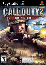 Call of Duty 2 Big Red One Sony Playstation 2 PS2 Video Game