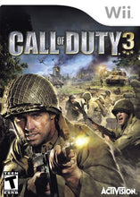 Call of Duty 3 Nintento Wii Video Game