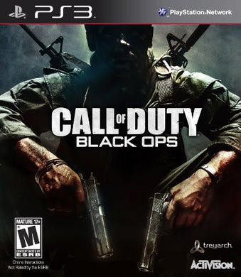 Call of Duty Black Ops Sony Playstation 3 PS3 Video Game