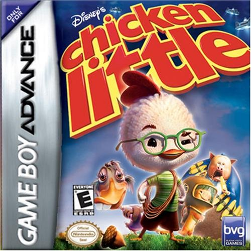 Chicken Little Nintendo Gameboy Advance Video Game Cartridge