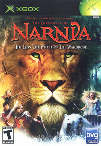 Chronicles of Narnia The Lion The Witch and The Wardrobe Microsoft Original Xbox Video Game