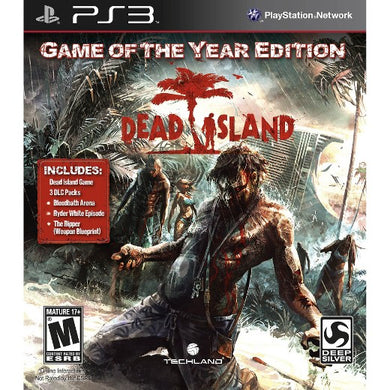 Dead Island Game of the Year Edition GOTY Sony Playstation 3 PS3 Video Game