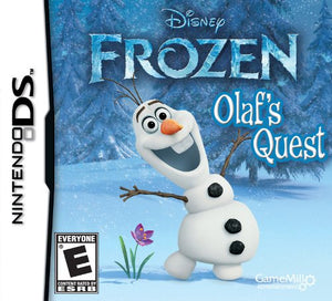 Frozen Olaf's Quest Nintendo DS Video Game