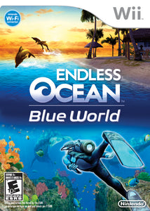 Endless Ocean Blue World Nintendo Wii Video Game