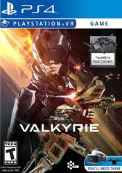 Eve Valkyrie Sony Playstation 4 PS4 Playstation VR Video Game
