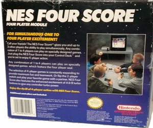 Four Score Multiplayer adaptor Nintendo NES Video Game Accessory