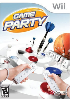 Game Party Nintendo Wii Video Game