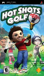 Hot Shots Golf Open Tee 2 Sony Playstation Portable PSP Video Game