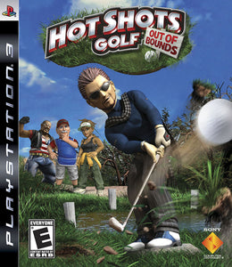 Hot Shots Golf Out of Bounds Sony Playstation 3 PS3 Video Game