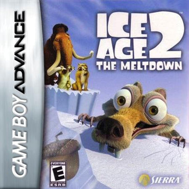 Ice Age 2 The Meltdown Nintendo Gameboy Advance Video Game