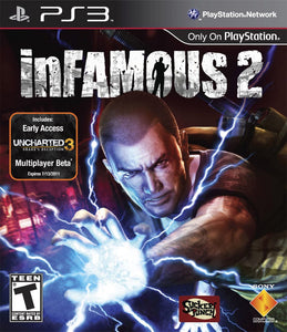 Infamous 2 Sony Playstation 3 PS3 Video Game