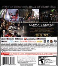 Injustice Gods Among Us Ultimate Edition Sony Plasystation 4 PS4 Video Game