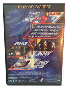 Iron Man Armored Adventures Animated Digital Comic 2008 Walmart Exclusive DVD Movie