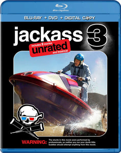 Jackass 3 Unrated and Theatrical Version Blu-ray Movie