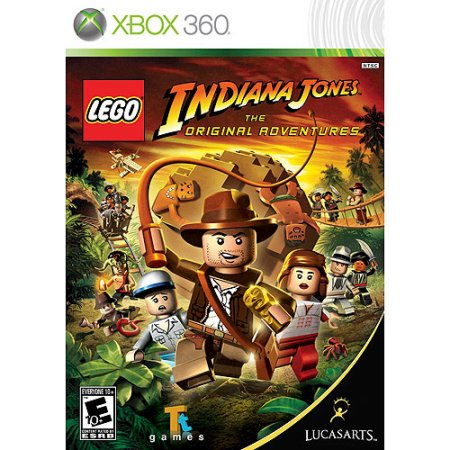 Lego Indiana Jones The Original Adventure Microsoft Xbox 360 Video Game
