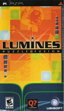 Lumines Puzzle Fusion Sony Playstation Portable PSP Video Game