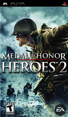 Medal of Honor Heroes 2 Sony Playstation Portable PSP Video Game