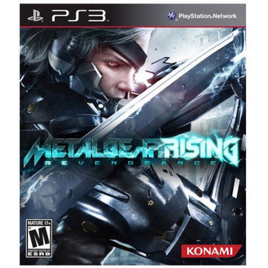 Metal Gear Rising: Revengeance Sony Playstation 3 PS3 Video Game