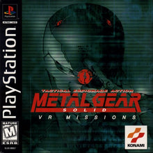 Metal Gear Solid VR Missions Sony Playstation PS1 Video Game