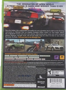 Midnight Club Los Angeles Complete Edition Microsoft Xbox 360 Video Game