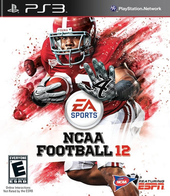 NCAA Football 12 Sony Playstation 3 PS3 Video Game