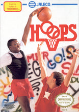 Hoops Nintendo NES Video Game Cartridge