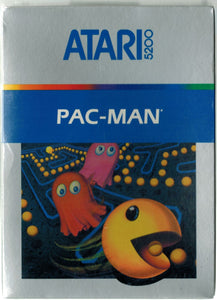Pac-Man Atari 5200 Video Game Cartridge