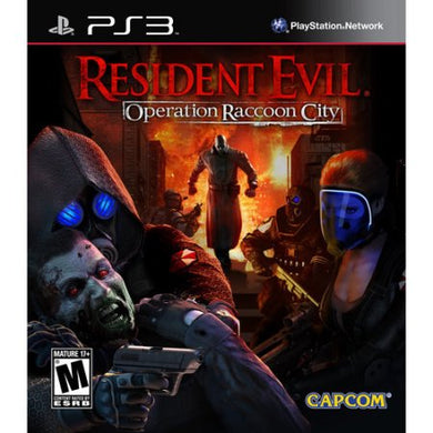 Resident Evil Operation Raccoon City Sony Playstation 3 PS3 Video Game