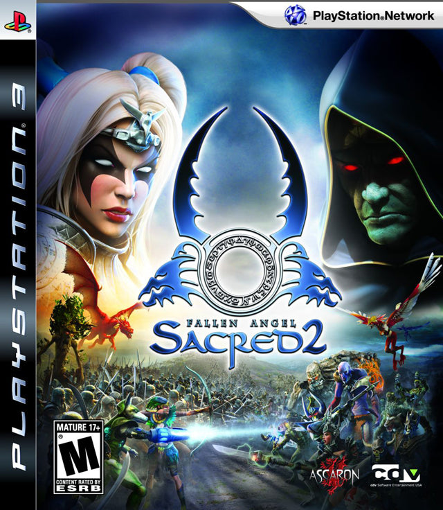 Sacred 2: Fallen Angel Sony Playstation 3 PS3 Video Game