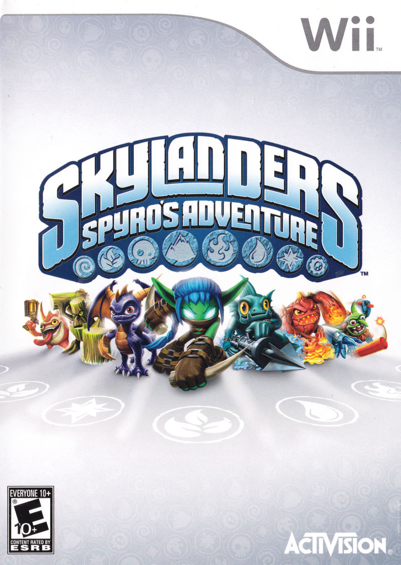 Slylanders Spyros Adventure Nintendo Wii Video Game