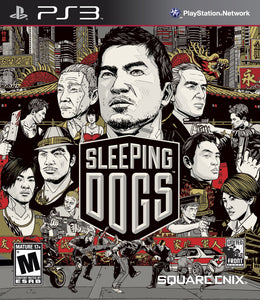 Sleeping Dogs Sony Playstation 3 PS3 Video Game
