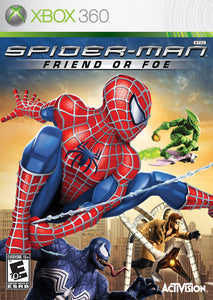 Spiderman Friend or Foe Microsoft Xbox 360 Video Game