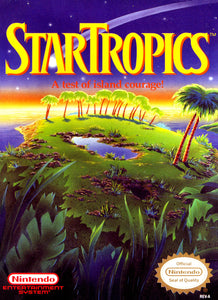 Star Tropics Nintendo Entertainment System NES Video Game Cartridge
