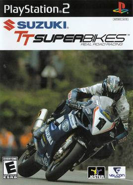 Suzuki TT Superbikes Real Road Racing Sony Playstation 2 PS2 Video Game