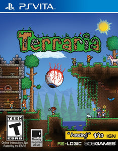 Terraria Sony Playstation Vita PSVita Video Game