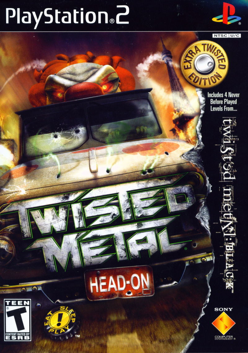 Twisted Metal Head-On Extra Twisted Edition Sony Playstation 2 PS2 Video Game