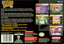 Vegas Stakes Nintendo Super Nintendo SNES Video Game