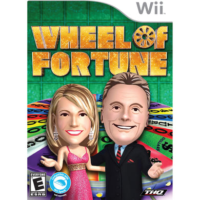 Wheel of Fortune Nintendo Wii Video Game