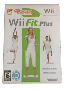 Wii Fit Plus Nintendo Wii Video Game