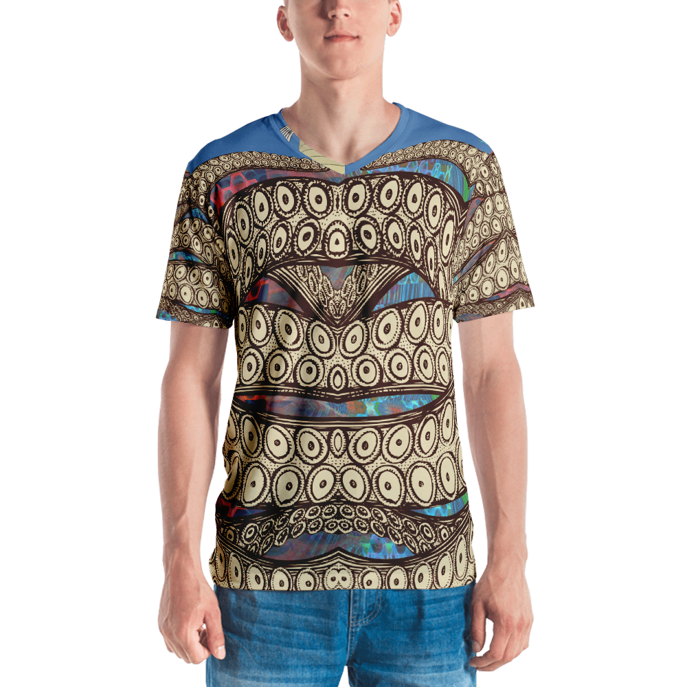 Tentacles Space Landscape All Over Print for Men