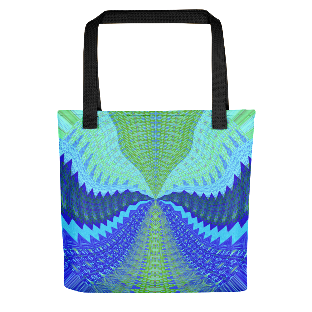 Psychedelic Swirl High Definition Art Print Tote