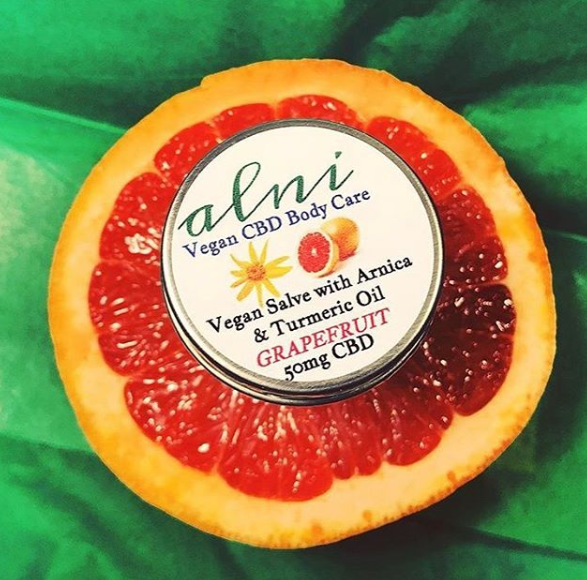 Spotlight: Alni Body Care Grapefruit CBD Salve