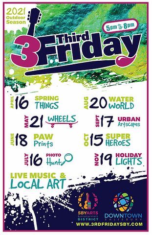 3rd Friday Downtown Salisbury, MD 2021 Schedule