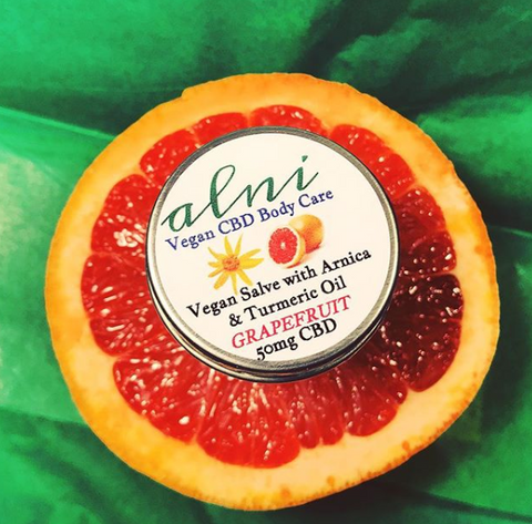 Alni Body Care Vegan Grapefruit CBD Salve