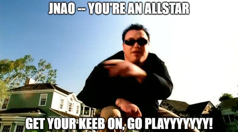 JNAO! YOU'RE AN ALLSTAR!